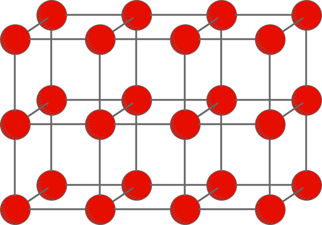 Atomic lattice